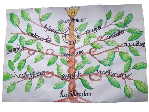 schilderij-boom-vrijstaand